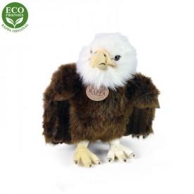 Rappa Plyšový pták orel stojící 24 cm ECO-FRIENDLY