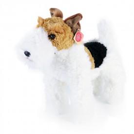 Rappa Plyšový pes foxteriér Dášenka stojící 30 cm