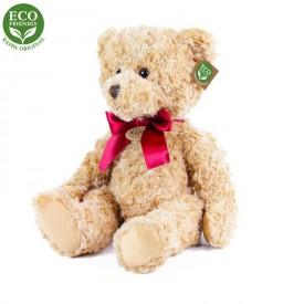 Rappa Plyšový medvěd retro sedící 28 cm ECO-FRIENDLY