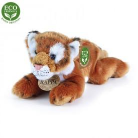Rappa Plyšový tygr hnědý ležící 17 cm ECO-FRIENDLY