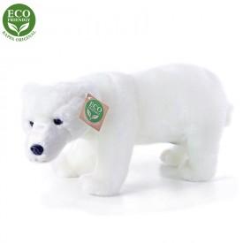 Rappa Plyšový medvěd polární stojící 28 cm ECO-FRIENDLY