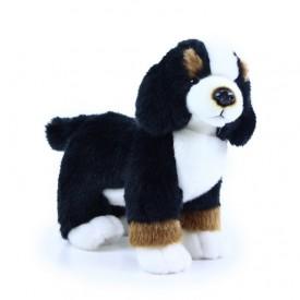 Rappa Plyšový bernský salašnický pes stojící 24 cm
