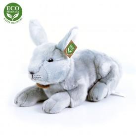 Rappa Plyšový králík ležící 33 cm ECO-FRIENDLY