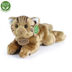 Rappa Plyšová kočka ležící 30 cm ECO-FRIENDLY