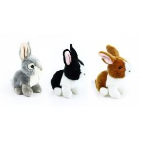 Rappa Plyšový králík sedící 16 cm 1 ks
