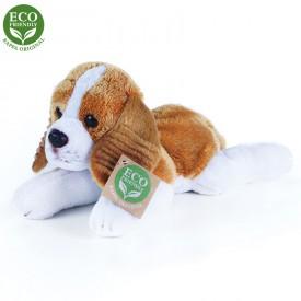 Rappa Plyšový pes King Charles Španěl ležící 18 cm se zvukem ECO-FRIENDLY