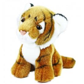 Rappa Plyšový tygr sedící 18 cm