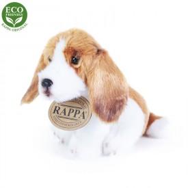 Rappa Plyšový pes sedící 11 cm ECO-FRIENDLY 1 ks - E