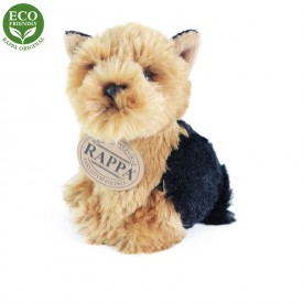 Rappa Plyšový pes sedící 11 cm ECO-FRIENDLY 1 ks - D