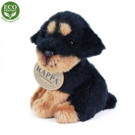 Rappa Plyšový pes sedící 11 cm ECO-FRIENDLY 1 ks - C