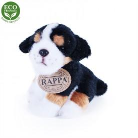 Rappa Plyšový pes sedící 11 cm ECO-FRIENDLY 1 ks - A