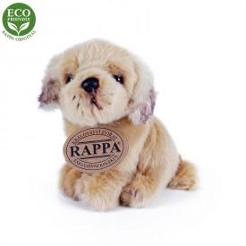 Rappa Plyšový pes sedící 11 cm ECO-FRIENDLY 1 ks - B
