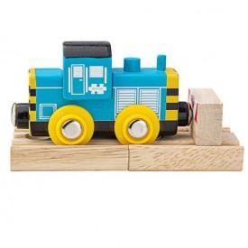 Bigjigs Rail Dřevěný vláček Shunter