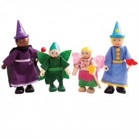 Bigjigs Toys Dřevěné postavičky Fantasy