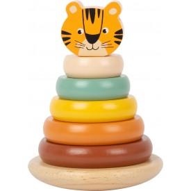 Small Foot Nasazovací věž Tiger Safari