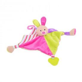 Bigjigs textilní hračka - Králíček Bella s kousátky