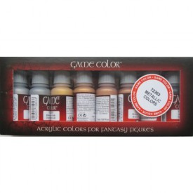 Vallejo: Game Color Set - Metallic Colors