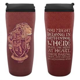 ABYstyle Cestovní hrnek Harry Potter - Gryffindor 355ml