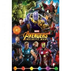 Pyramid International Plakát Avengers: Infinity War - Postavy