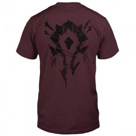 Tričko World of Warcraft - Horde Bones Crest