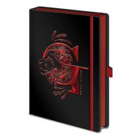 Zápisník Harry Potter - Nebelvír, lesklý