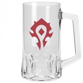 ABYstyle Skleněný půllitr World of Warcraft - Horda 500ml