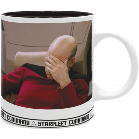 ABYstyle Hrnek Star Trek Picard Facepalm 320 ml