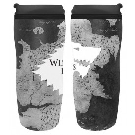 ABYstyle Cestovní hrnek Game of Thrones - Winter is here 355ml