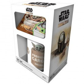 Pyramid International Dárková sada Star Wars Mandalorian The Child 315 ml