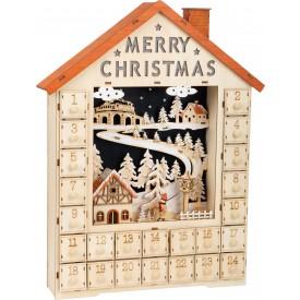 Small Foot Adventní kalendář veselé Vánoce