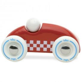 Vilac Dřevěné auto mini rallye červené poškozený obal