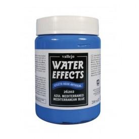 Vallejo: Water Effects Mediteranean Blue