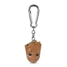 Klíčenka Guardians of the Galaxy - Baby Groot 3D