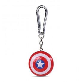 Klíčenka Captain America - Shield 3D