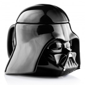 ABYstyle Keramický hrnek Star Wars Darth Vader 3D černý 350 ml