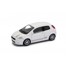 Welly - Fiat 500 model 1:43 Sport černá
