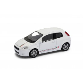 Welly - Fiat 500 model 1:43 Sport červená