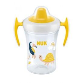 NUK hrnek Trainer Cup  230ml žlutý