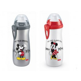 NUK FC Sports Cup Mickey Mouse 450 ml 1ks šedá