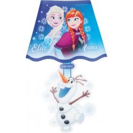 Nástěnná samolepka Frozen s LED osvětlením 18x26 cm