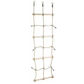 Dvěděti Šplhací síť s dřevěnými příčkami