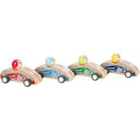 Small Foot Závodní auto na setrvačník 1 ks