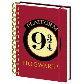 Pyramid International Zápisník Harry Potter - Nástupiště 9 a 3/4 A5