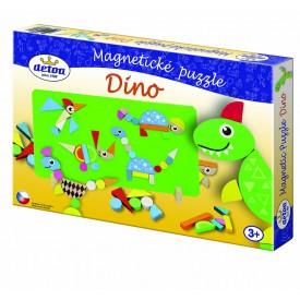 Detoa Magnetické puzzle DINO - poškozený obal