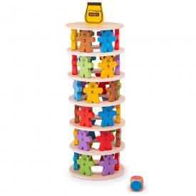 Bigjigs Toys Hra padající medvídci