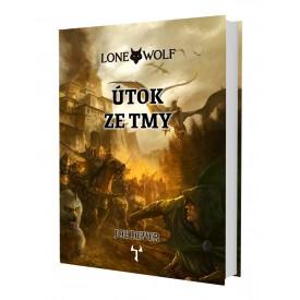Lone Wolf: Útok ze tmy (vázaná) + záložka