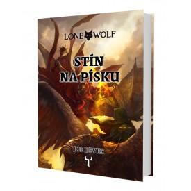 Lone Wolf: Stín na písku (vázaná) + záložka