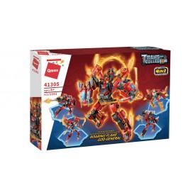 Qman Roaring Flame God General 41305 sada 4v1