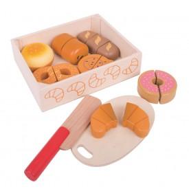 Bigjigs Toys Krájecí pečiva v krabičce - poškozený obal