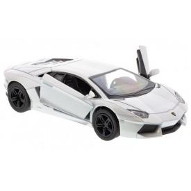 Welly - Lamborghini Aventador LP700-4 model 1:34 krémové